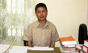 Mr Thupten Tenzing : Sr Research Officer