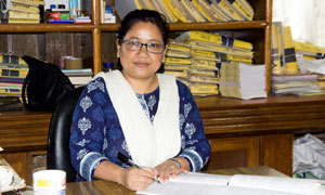 Mrs Priscilla Bhutia : Lower Division Clerk